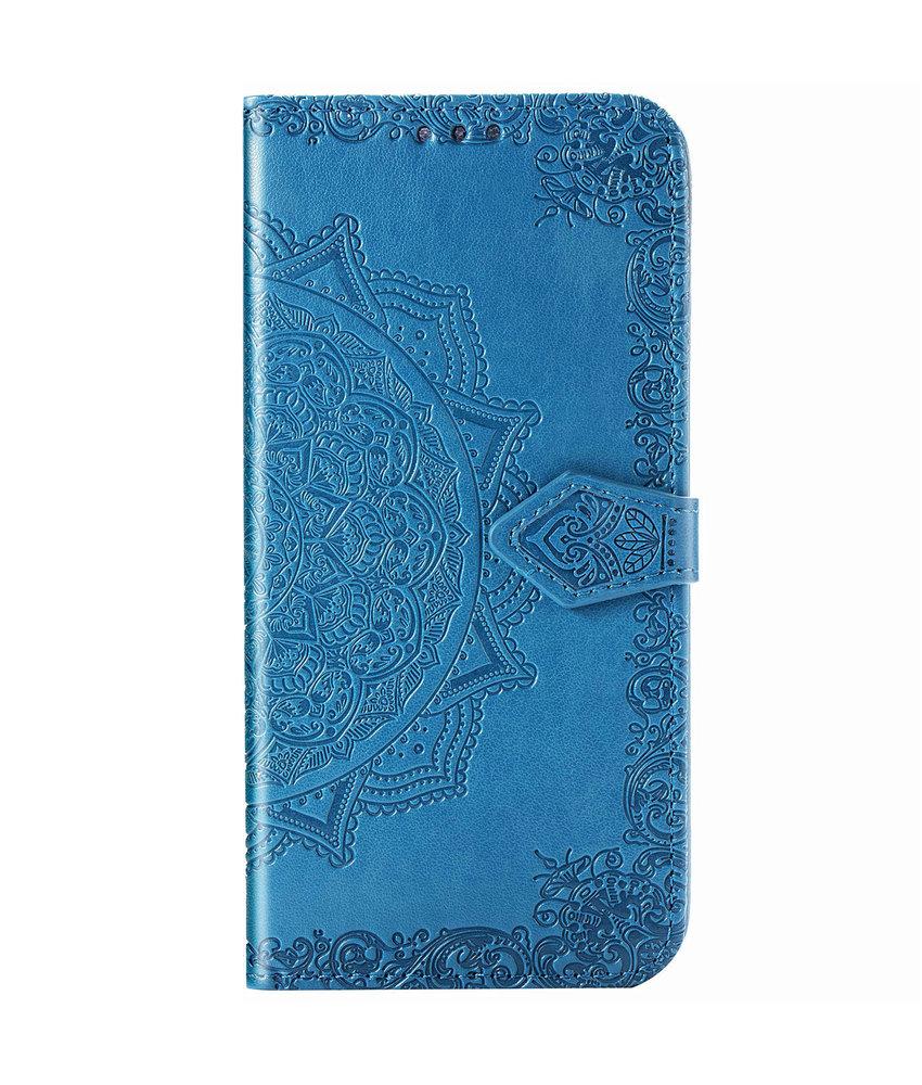 Mandala Booktype iPhone 11 - Turquoise