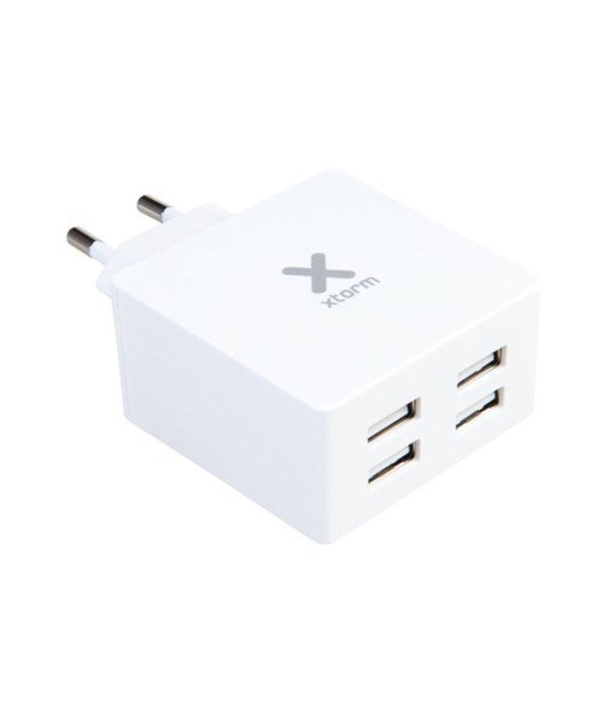 Xtorm AC Adapter 4X USB - 4,8 ampère