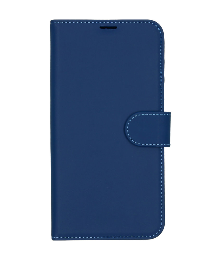 Accezz Wallet Softcase Booktype Huawei P20 Lite (2019) - Blauw