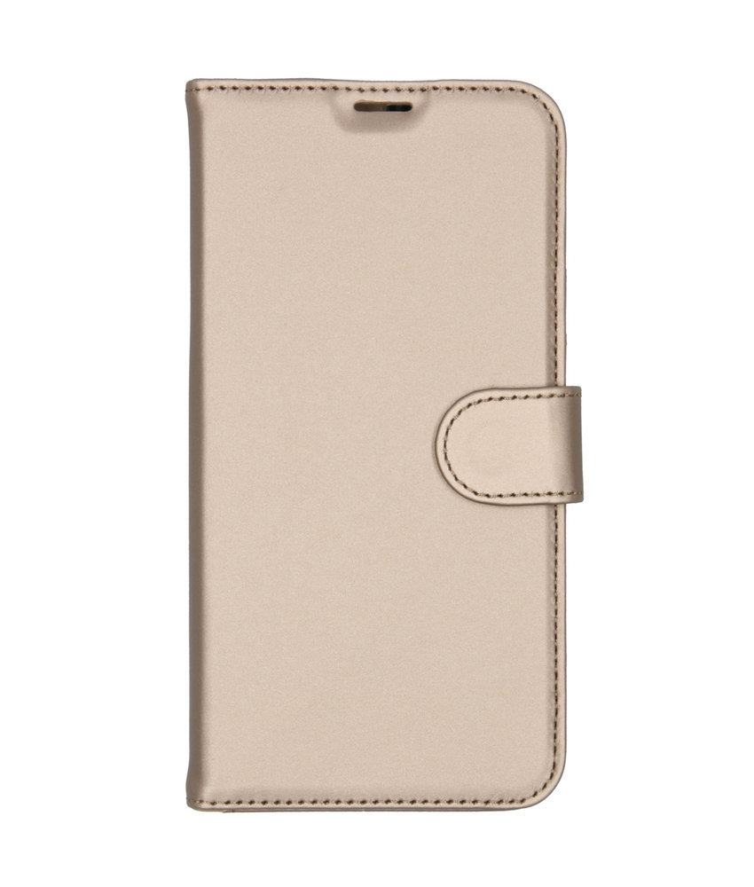 Accezz Wallet Softcase Booktype Huawei P20 Lite (2019) - Goud