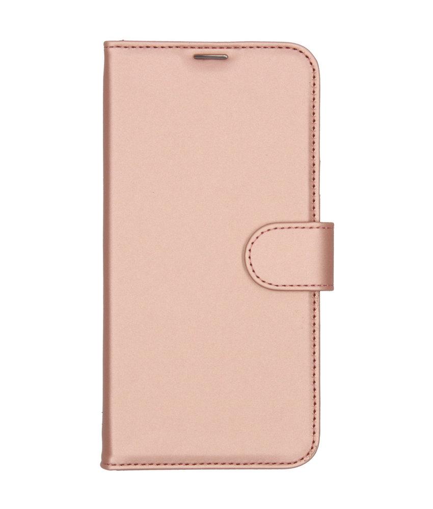 Accezz Wallet Softcase Booktype Huawei P20 Lite (2019) - Rosé Goud