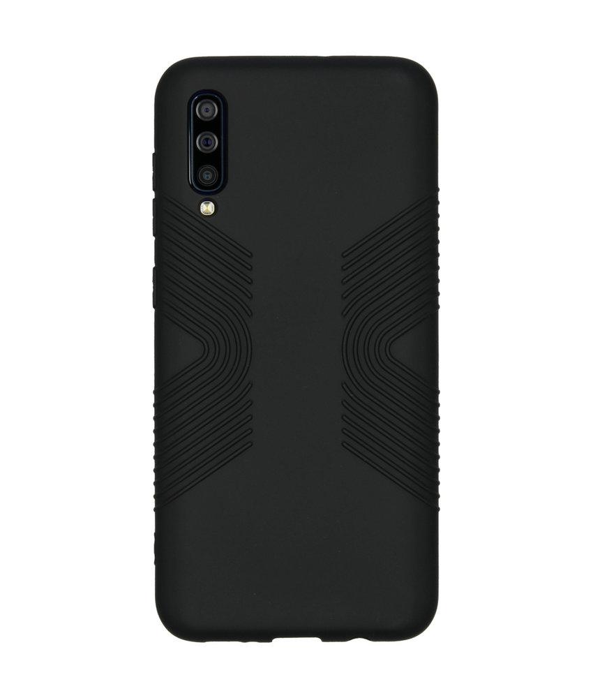Accezz Impact Grip Backcover Samsung Galaxy A50 - Zwart