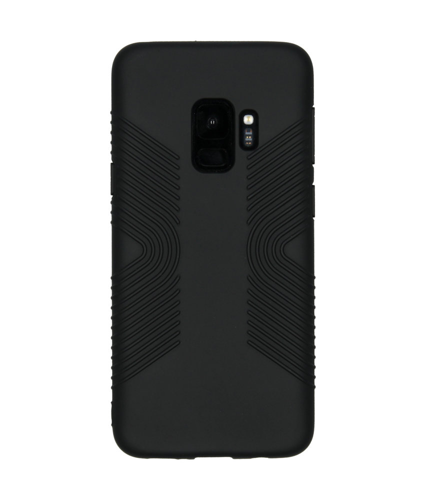 Accezz Impact Grip Backcover Samsung Galaxy S9 - Zwart