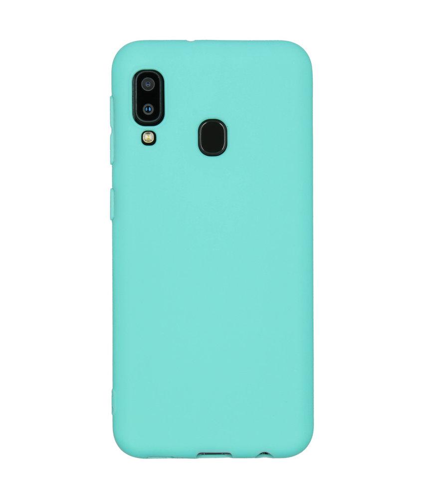 iMoshion Color Backcover Samsung Galaxy A20e - Mintgroen