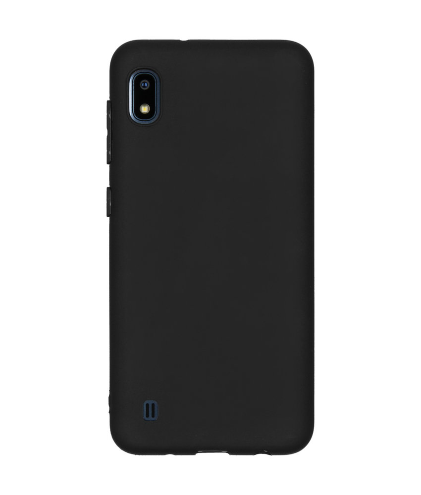 iMoshion Color Backcover Samsung Galaxy A10 - Zwart
