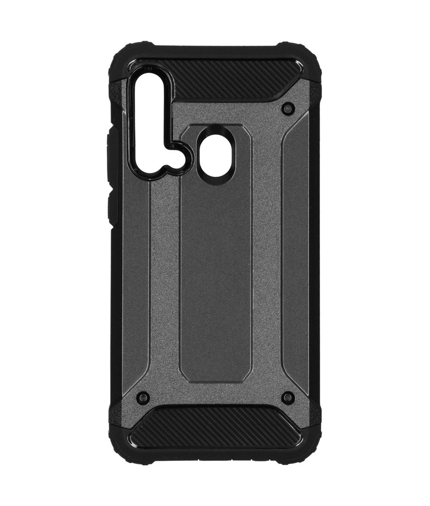 iMoshion Rugged Xtreme Backcover Huawei P20 Lite (2019) - Zwart