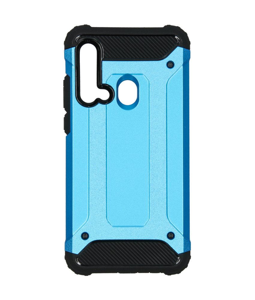 iMoshion Rugged Xtreme Backcover Huawei P20 Lite (2019) - Blauw
