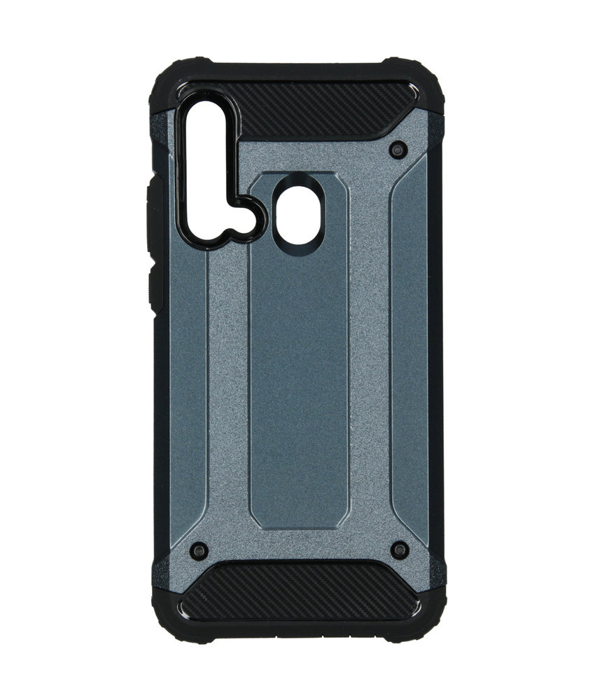iMoshion Rugged Xtreme Backcover Huawei P20 Lite (2019) - Donkerblauw