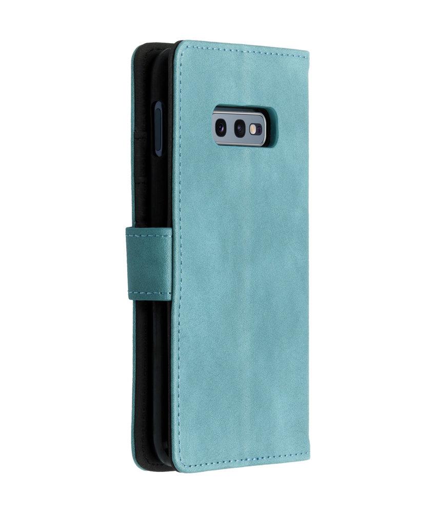 Luxe Lederen Booktype Samsung Galaxy S10e