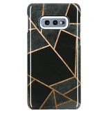 Passion Backcover voor Samsung Galaxy S10e - Grafisch Zwart / Koper