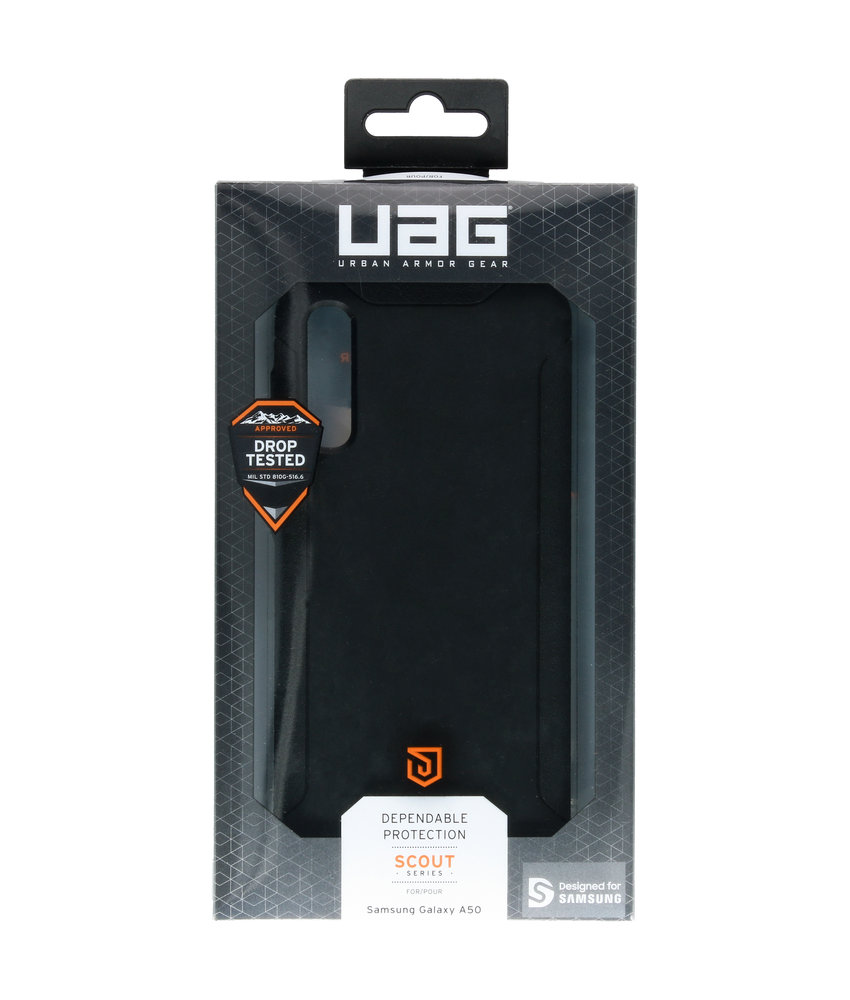 UAG Scout Backcover Samsung Galaxy A50 / A30s - Zwart