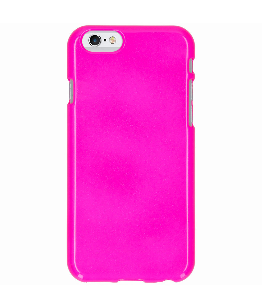 Neon Backcover iPhone 6 / 6s - Fluor Roze