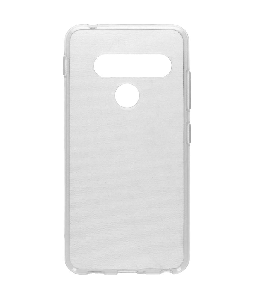 Softcase Backcover LG G8s ThinQ - Transparant