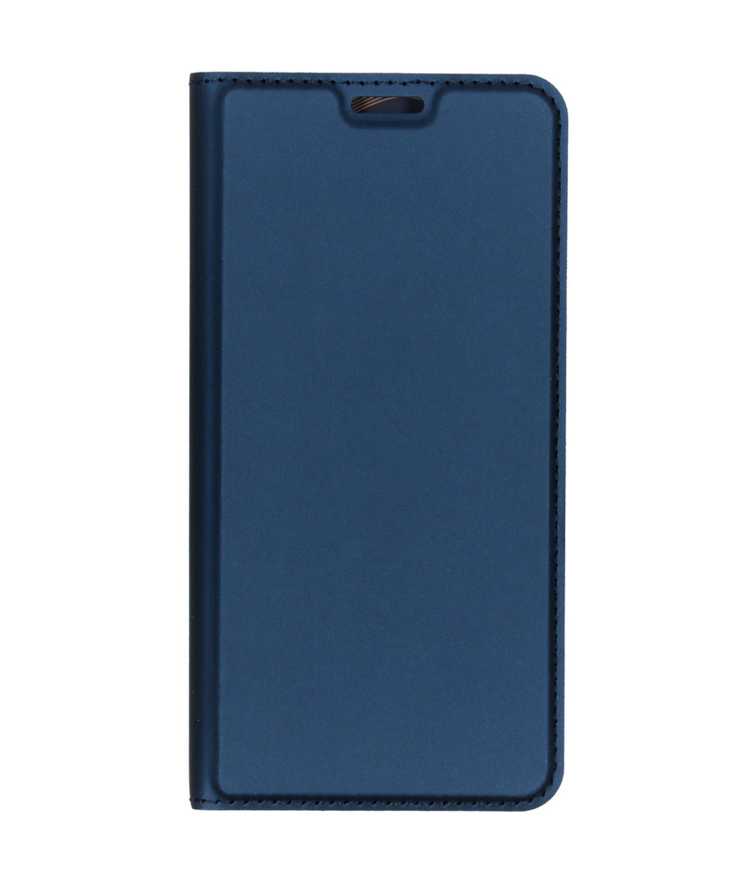 Dux Ducis Slim Softcase Booktype LG G8s ThinQ - Donkerblauw