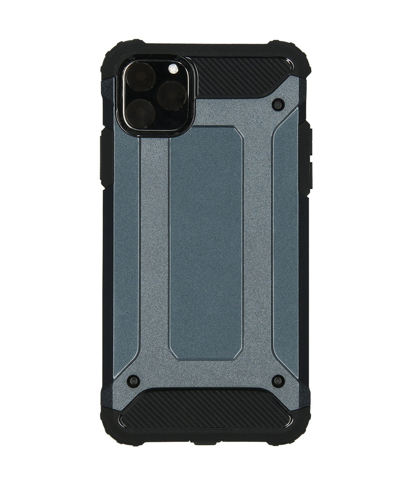 iMoshion Rugged Xtreme Backcover iPhone 11 Pro Max - Donkerblauw
