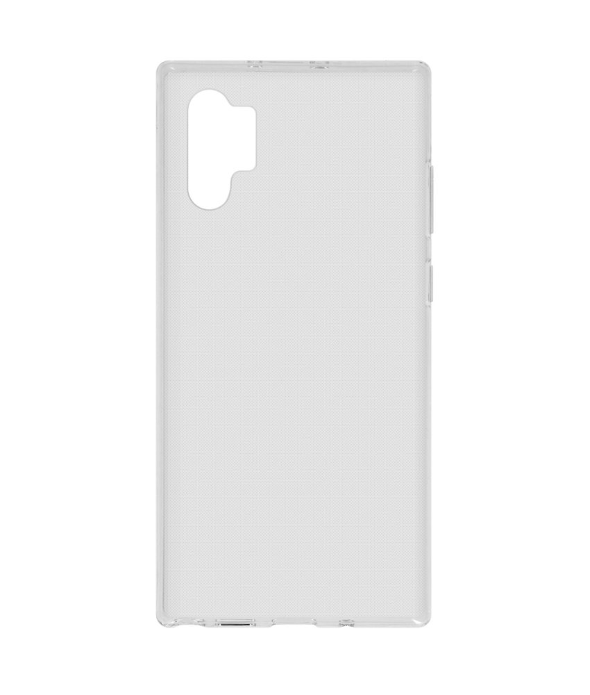 Softcase Backcover Samsung Galaxy Note 10 Plus - Transparant