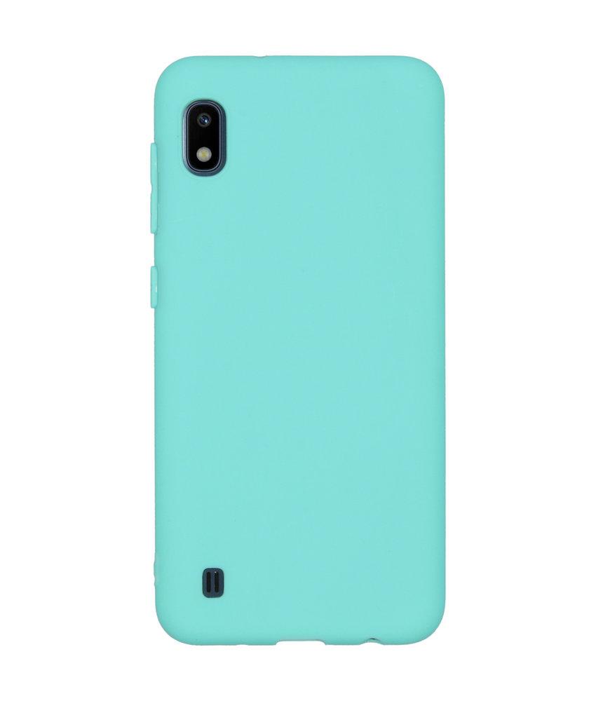 iMoshion Color Backcover Samsung Galaxy A10 - Mintgroen