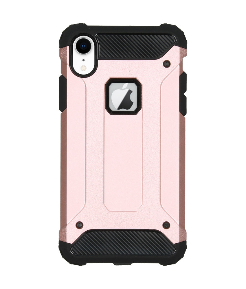 iMoshion Rugged Xtreme Backcover iPhone Xr - Rosé Goud