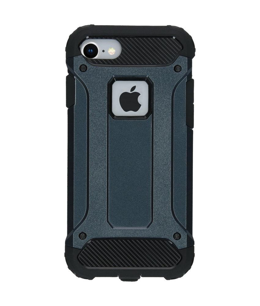 iMoshion Rugged Xtreme Backcover iPhone 8 / 7 - Donkerblauw