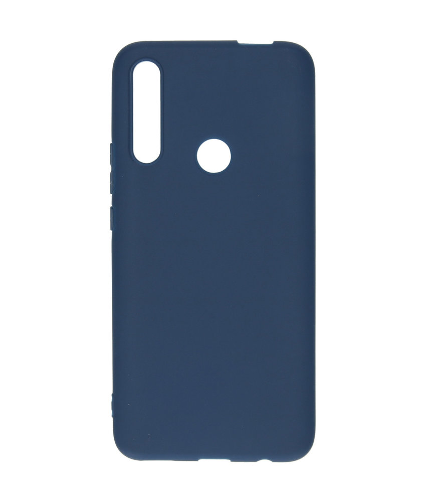 iMoshion Color Backcover Huawei P Smart Z - Donkerblauw