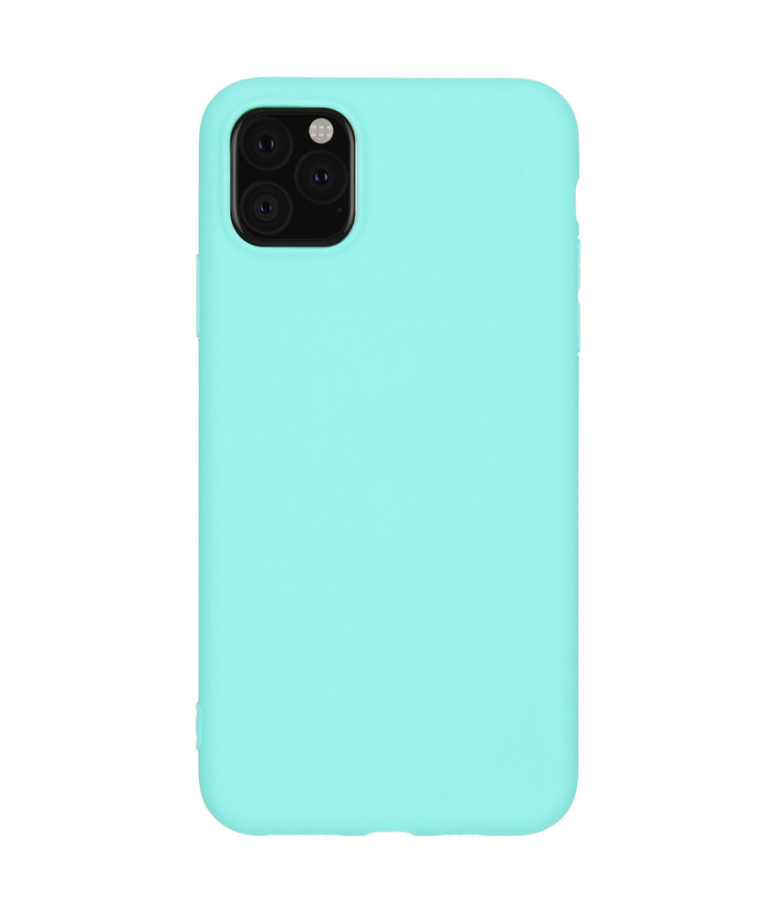 iMoshion Color Backcover iPhone 11 Pro Max - Mintgroen