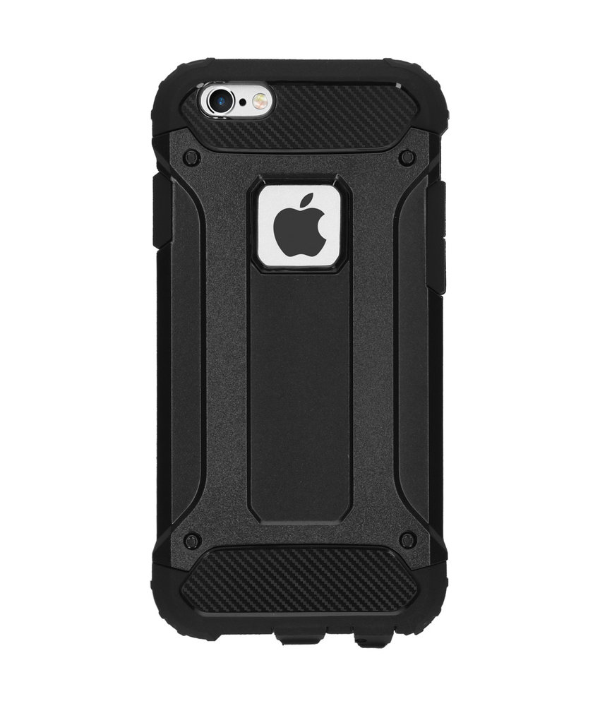 iMoshion Rugged Xtreme Backcover iPhone 6 / 6s - Zwart