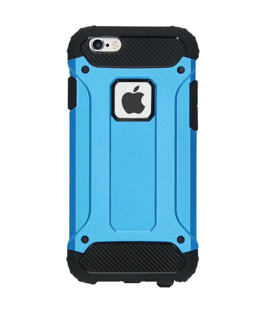 iMoshion Rugged Xtreme Backcover iPhone 6 / 6s - Lichtblauw