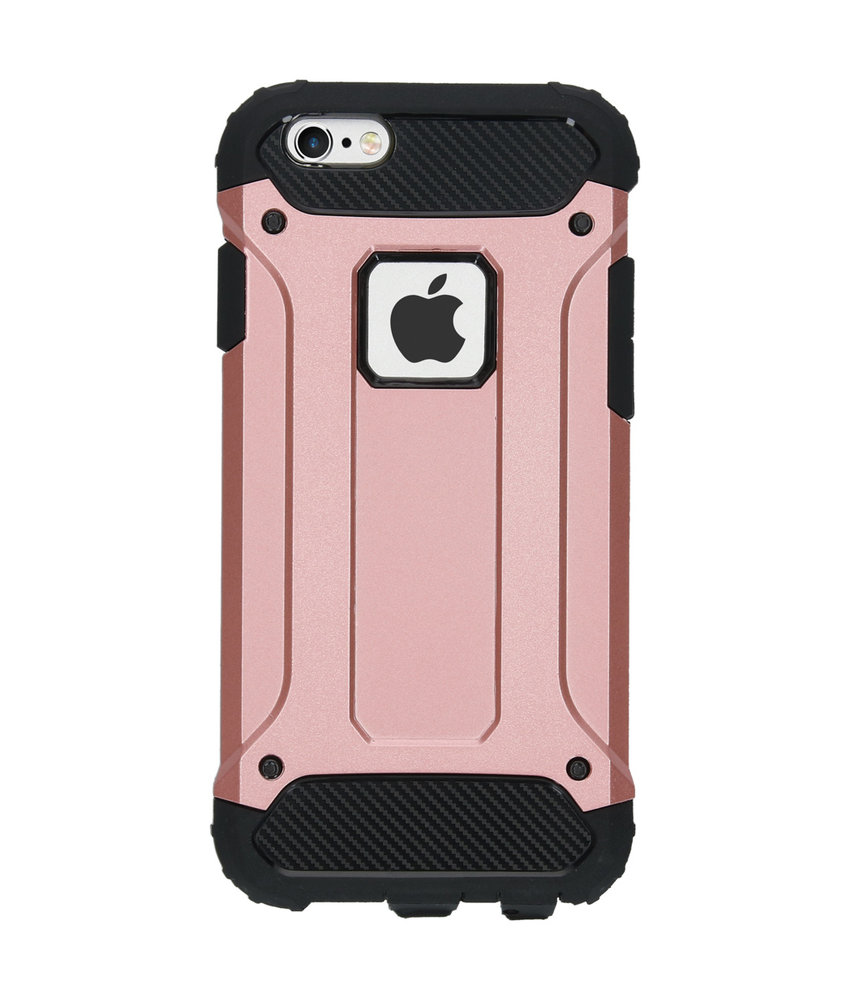 iMoshion Rugged Xtreme Backcover iPhone 6 / 6s - Rosé Goud