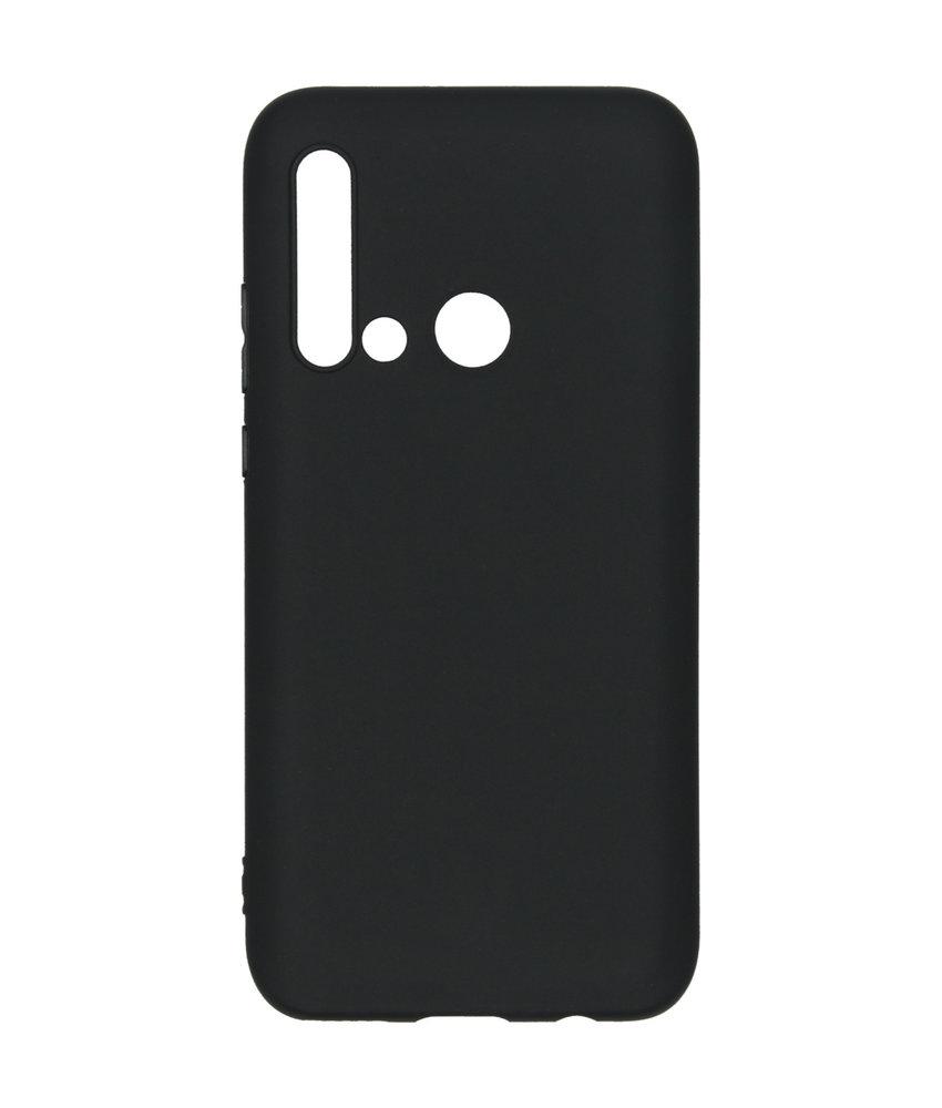 Color Backcover Huawei P20 Lite (2019) - Zwart