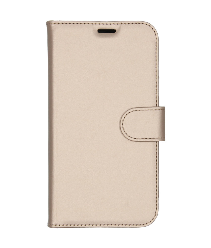 Accezz Wallet Softcase Booktype iPhone 11 - Goud