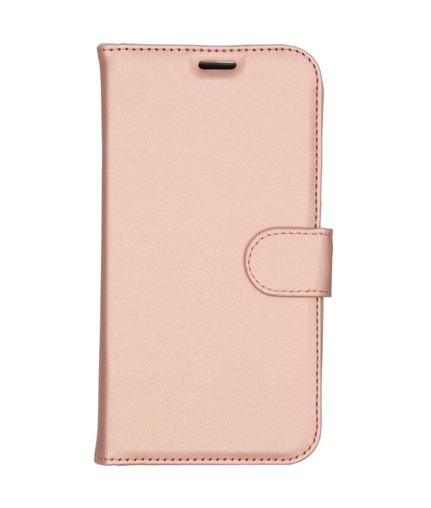Accezz Wallet Softcase Booktype iPhone 11 - Rosé Goud