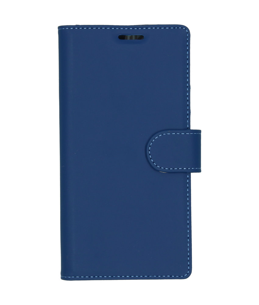 Accezz Wallet Softcase Booktype Samsung Galaxy Note 10 - Blauw