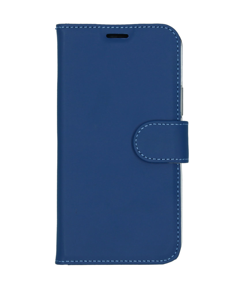 Accezz Wallet Softcase Booktype iPhone 11 Pro - Blauw