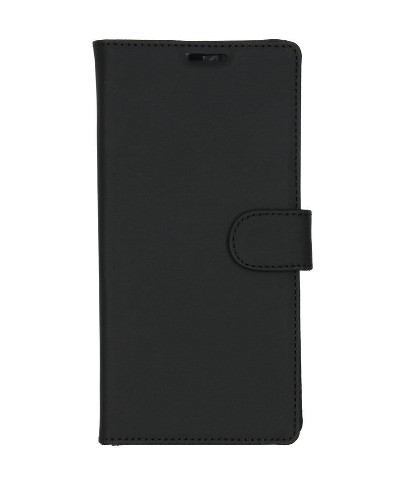 Accezz Wallet Softcase Booktype Samsung Galaxy Note 10 Plus - Zwart
