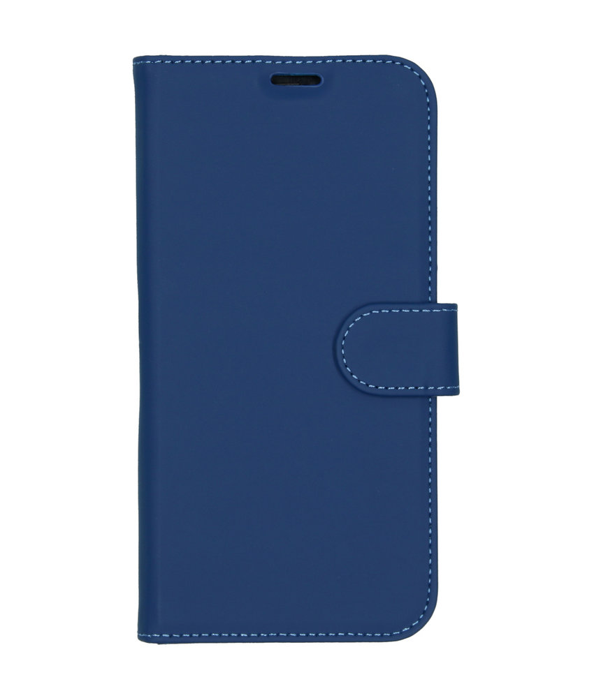 Accezz Wallet Softcase Booktype iPhone 11 Pro Max - Blauw