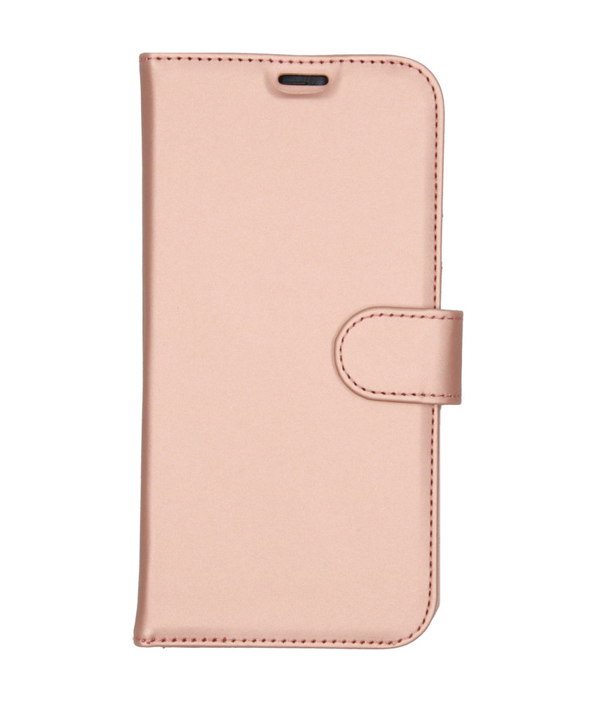 Accezz Wallet Softcase Booktype iPhone 11 Pro Max - Rosé Goud