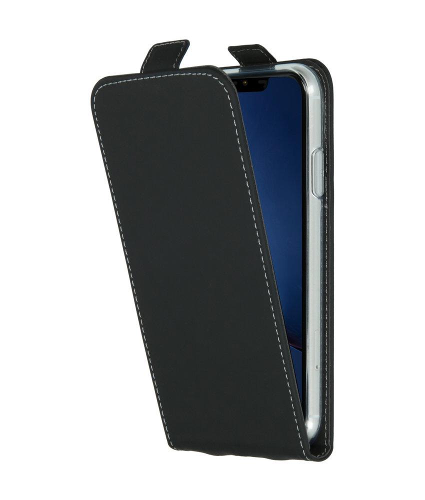 Accezz Flipcase iPhone 11 - Zwart