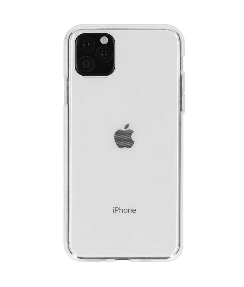 Accezz Clear Backcover iPhone 11 Pro Max - Transparant