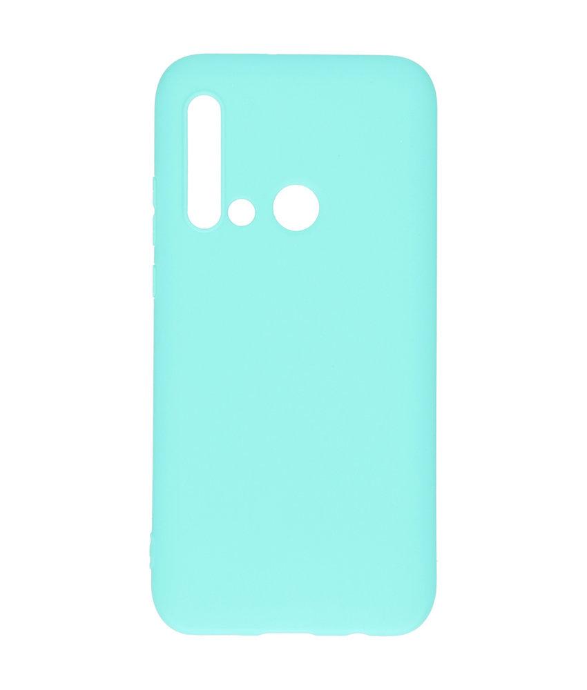 iMoshion Color Backcover Huawei P20 Lite (2019) - Mintgroen