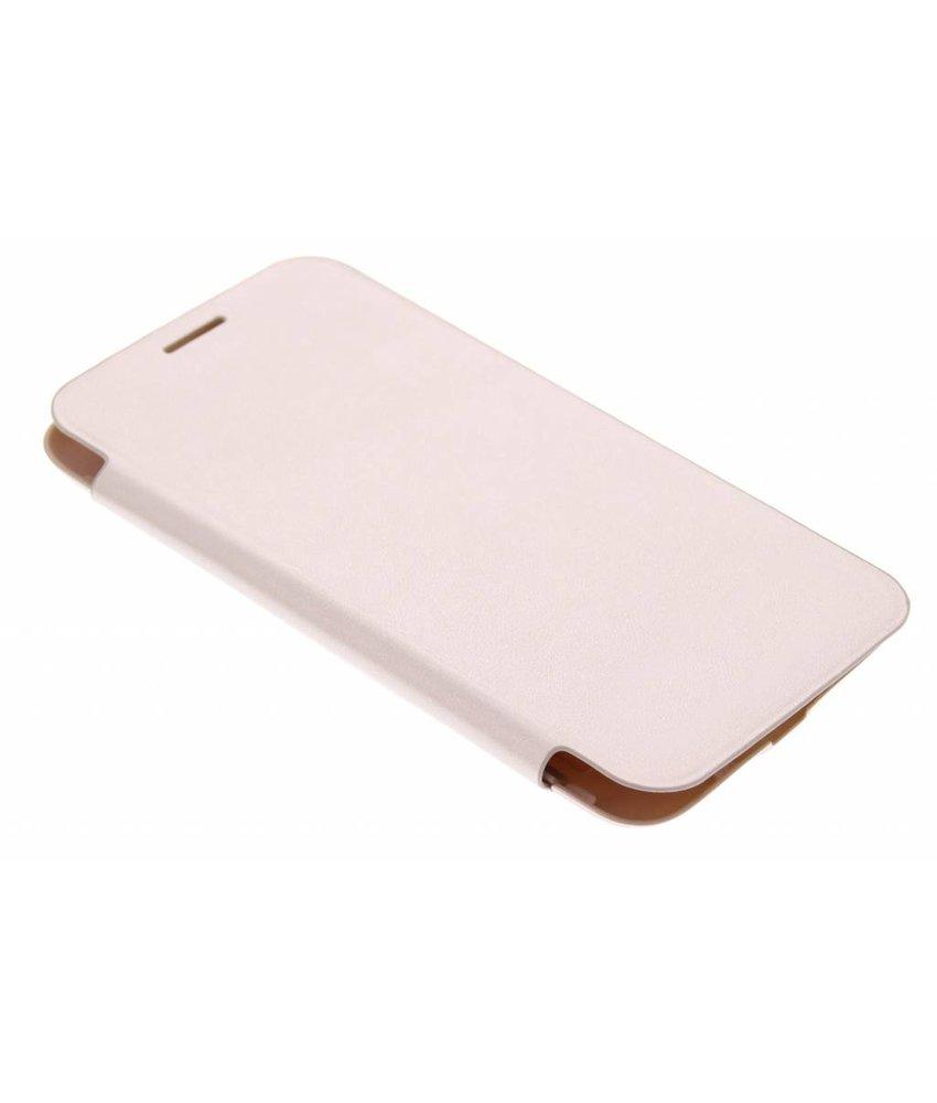 Goud metallic flipcover Samsung Galaxy S5 Mini
