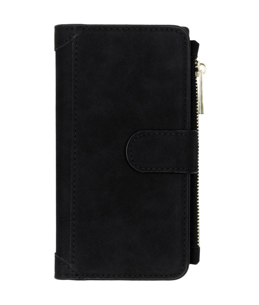 Luxe Portemonnee Samsung Galaxy Note 10 - Zwart