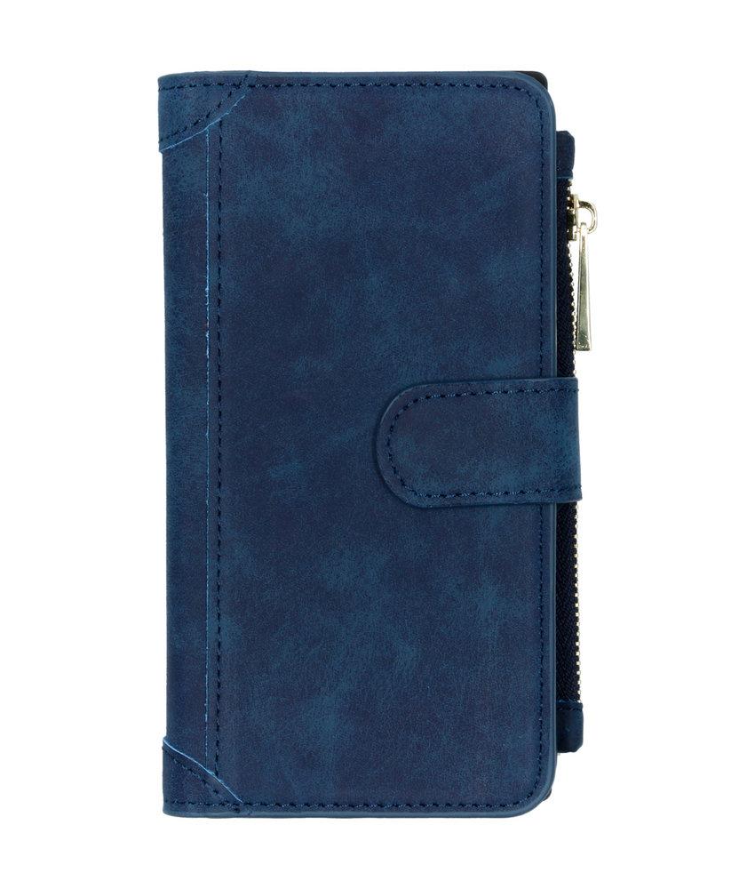 Luxe Portemonnee Samsung Galaxy Note 10 - Donkerblauw
