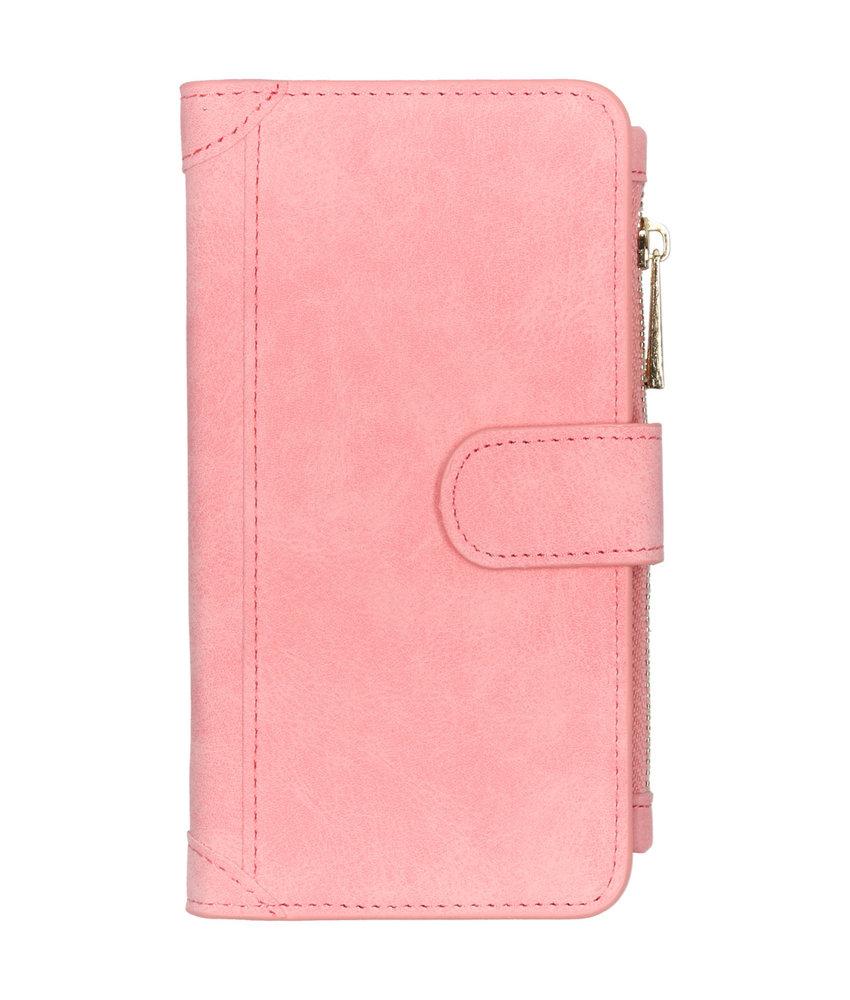 Luxe Portemonnee Samsung Galaxy Note 10 - Roze
