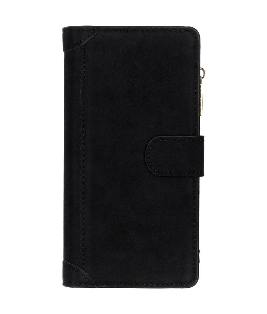 Luxe Portemonnee Samsung Galaxy Note 10 Plus - Zwart