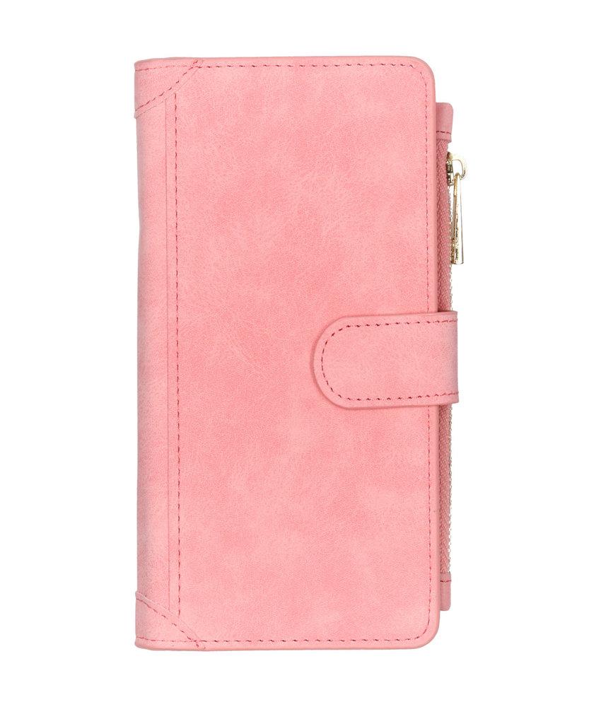 Luxe Portemonnee Samsung Galaxy Note 10 Plus - Roze