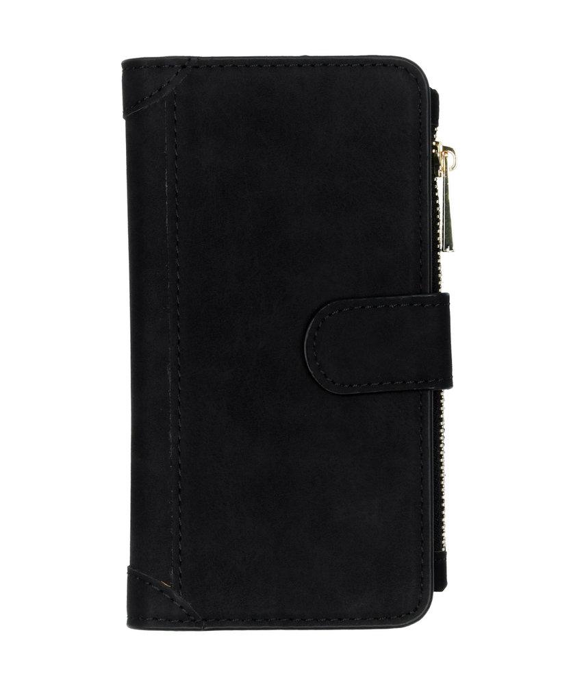 Luxe Portemonnee iPhone 11 - Zwart