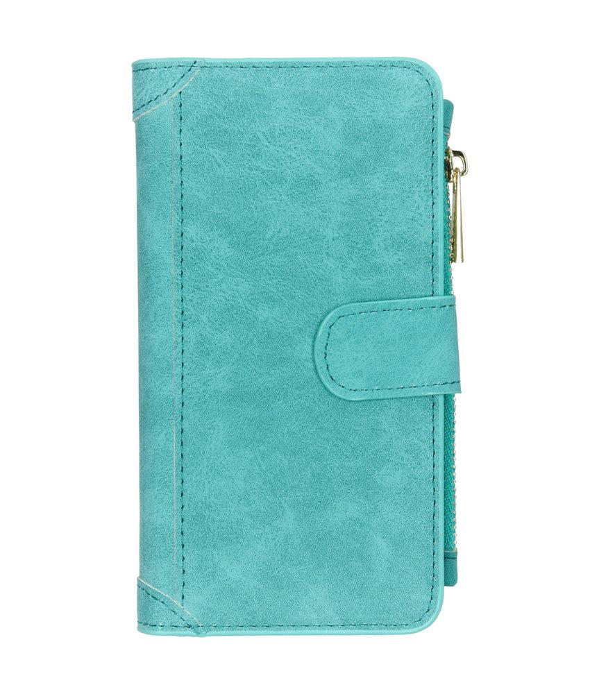 Luxe Portemonnee iPhone 11 - Turquoise
