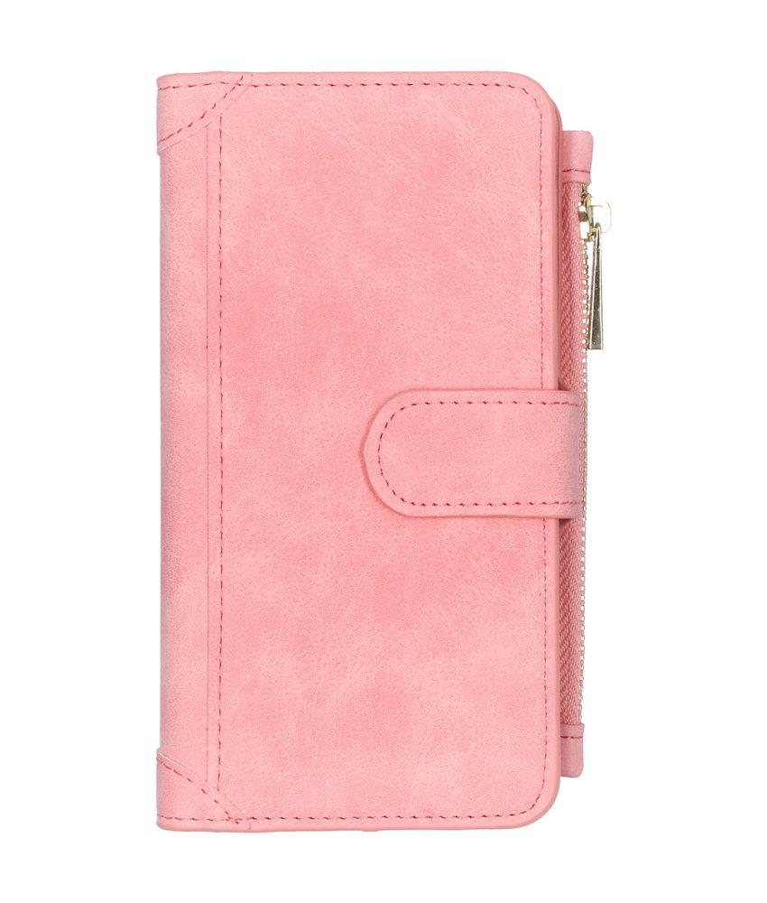 Luxe Portemonnee iPhone 11 - Roze