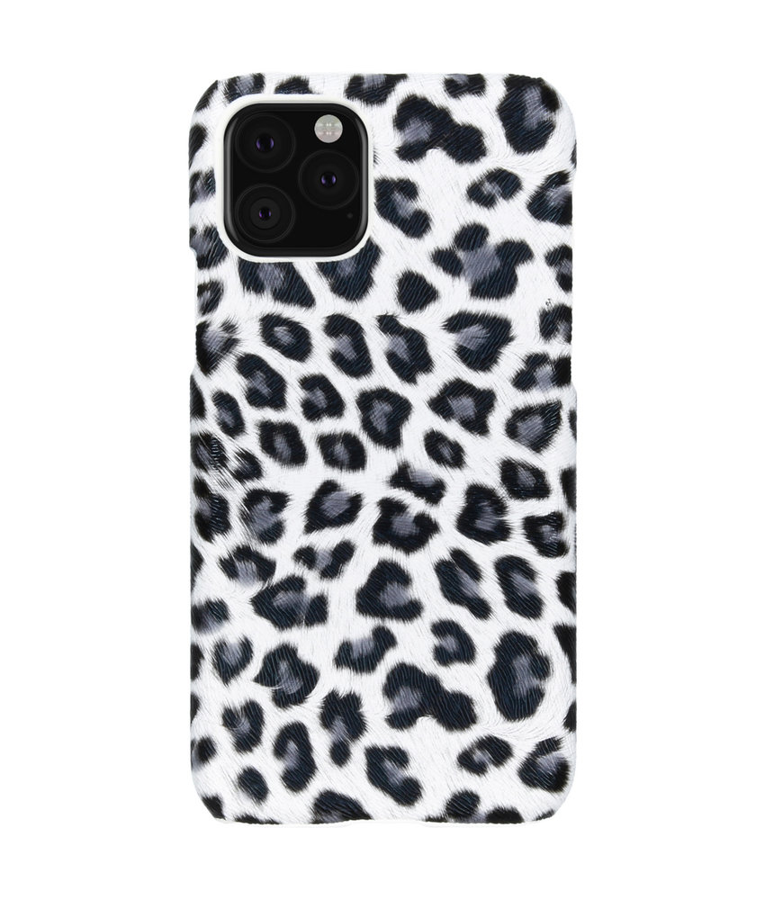 Luipaard Design Backcover iPhone 11 Pro - Wit