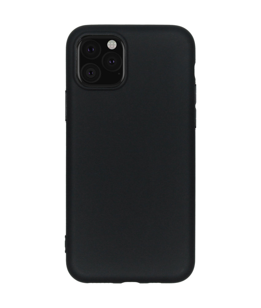 Color Backcover iPhone 11 Pro - Zwart